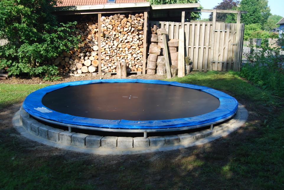 Meget Nedgravning af trampolin - vi gør det hurtigt og elegant - få tilbud GR82